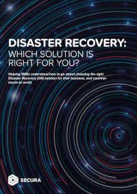 Disaster Recovery: Which Solution is Right for You?