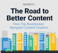 [Infographic] The Road to Better Content