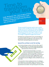Stay Competitive and Transform Your Finance Technology
