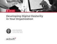 Developing Digital Dexterity in Your Organization