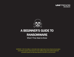 A Beginner's Guide to Ransomware