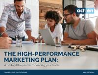The High-Performance Marketing Plan