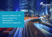 Business Software: The key to competitive advantage for mid-market companies