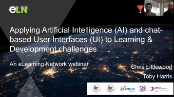 Applying AI and Chat-Based UI to Learning and Development Challenges [Webinar]