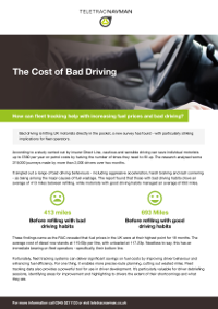 The Cost of Bad Driving