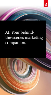 AI: Your behind-the-scenes marketing companion