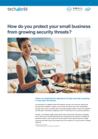 How do you protect your small business from growing security threats?