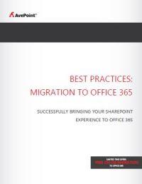 Best Practices: Migration zu Office 365