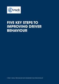 Five Key Steps to Improving Driver Behaviour