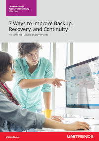 7 Ways to Improve Backup, Recovery, and Continuity