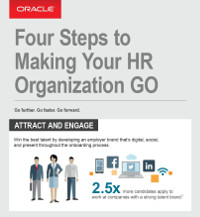 Four Steps to Making Your HR Organization GO