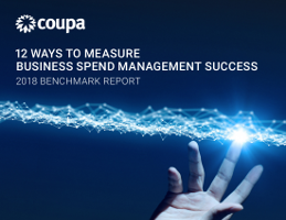 2018 Benchmark Report: 12 Ways to Measure Business Spend Management Success
