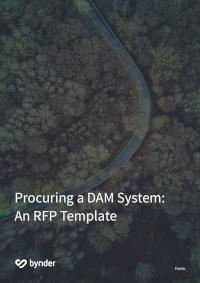 Digital Asset Management RFP Template