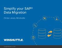 Simplify your SAP Data Migration
