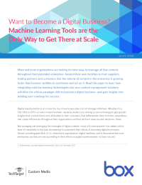 Scale Your Digital Business with Machine Learning