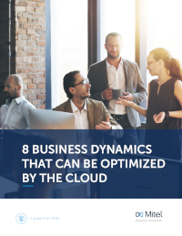 8 Business Dynamics That Can Be Optimised by the Cloud