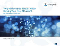 Why Performance Matters When Building Your New SD-WAN