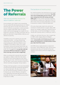 The Power of Referrals