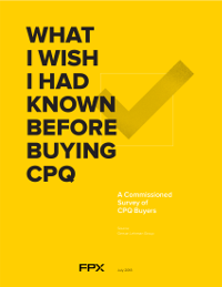 What I Wish I Had Known Before Buying CPQ