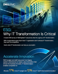Why IT Transformation Is Critical