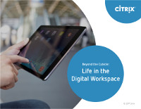 Beyond the Cubicle: Life in the Digital Workspace
