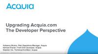 Upgrading from Drupal 7 to Drupal 8:  The Developer Perspective