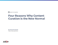 Four Reasons Why Content Curation is the New Normal