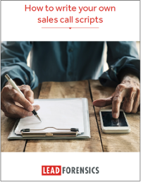 How to Write Your Own Sales Call Scripts