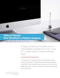 Tides of Change: New Workflows to Replace Imaging