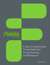 4 Keys to Automating Threat Detection, Threat Hunting and Response