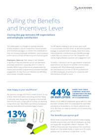 Pulling the Benefits and Incentives Lever