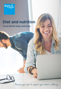 Diet and Nutrition: Food Fuel for Brain and Body