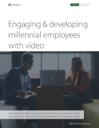 Engaging & Developing Millennial Employees with Video