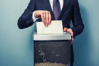 How to Safely Destroy Documents Before Recycling