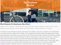 What Rewards Do Employees Want Most?