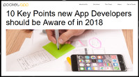 10 Key Points New App Developers Should Be Aware of in 2018