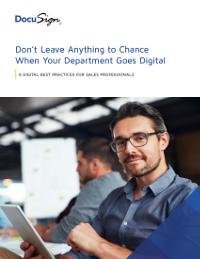 8 Digital Best Practices for Sales Professionals