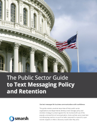 Text Messaging Policy and Retention Within the Public Sector