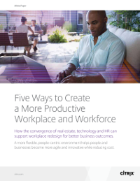 Five Ways to Create a More Productive Workplace and Workforce
