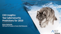 Cybersecurity Predictions for 2019