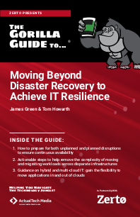 Moving Beyond Disaster Recovery to Achieve IT Resilience