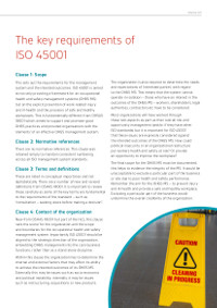 ISO 45001: Understanding the New International Standard for Occupational Health & Safety