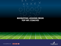 Recruiting Lessons from Top NFL Coaches