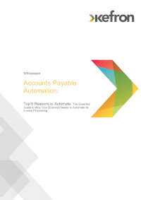 9 Reasons to Choose Accounts Payable Automation