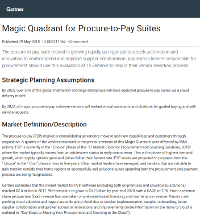 Coupa Named Leader in 2018 Gartner Magic Quadrant for Procure-to-Pay Suites