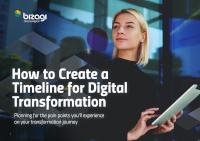 So erstellen Sie einen Zeitplan für die digitale Transformation