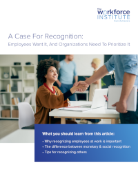 A Case for Recognition: Employees Want It, And Organisations Need to Prioritise It