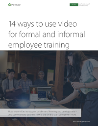 14 Ways to Use Video for Formal and Informal Employee Training