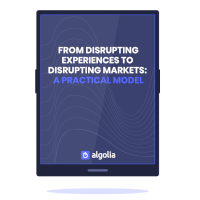 From Disrupting Experiences to Disrupting Markets
