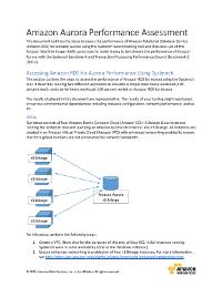 MySQL Benchmarking Report